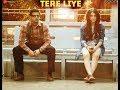 Tere Liye   Full HD Video Song   Mard Ko Dard Nahi Hota   Radhika Madan & Abhimanyu Dassani