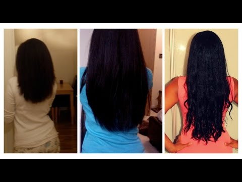 Super Hair Growth Oil DIY recipe   Before and After footage