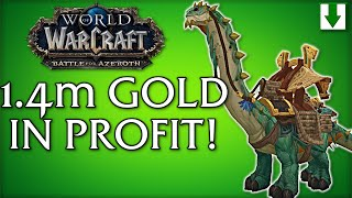 1.4m Gold Profit In One Week | WoW 5 Million Gold From Scratch | Ep 15