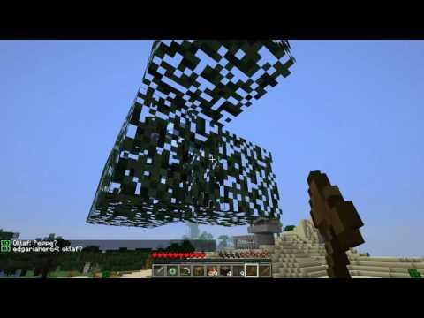 Aaron spielt Minecraft auf Cube-Nation 3