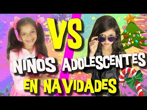 ? NIÑOS vs ADOLESCENTES en NAVIDAD + SORTEO de NAVIDAD con HOY NO HAY COLE ¡y muchos más!