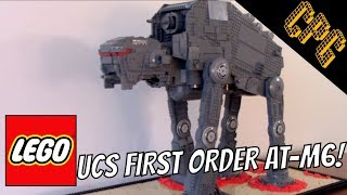 Star Wars The Last Jedi: Lego AT-M6 Walker in UCS scale!!!
