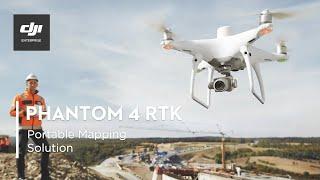 DJI PHANTOM 4 RTK – A Game Changer for Construction Surveying