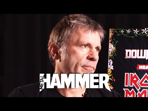 Iron Maiden Download 2013 Bruce Dickinson Interview - Part 1