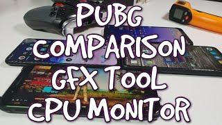 PUBG Comparison OnePlus 6T vs Black Shark/Pocophone F1/Xiaomi Mi Mix 3 GFX Tool/60FPS HDR