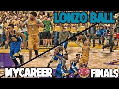 MUST WIN GAME - NBA 2K17 LONZO BALL MyCareer