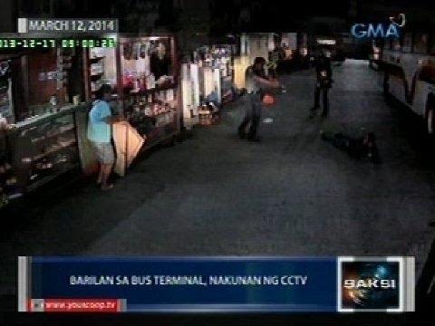 Saksi: Suspek sa barilan sa bus terminal sa Caloocan, na-inquest sa ospital