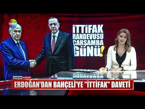"""Erdoğan'dan Bahçeli'ye """"İttifak"""" daveti"""