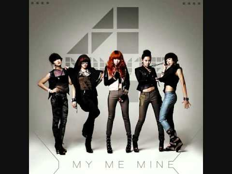 4 Minute - I My Me Mine (audio) video