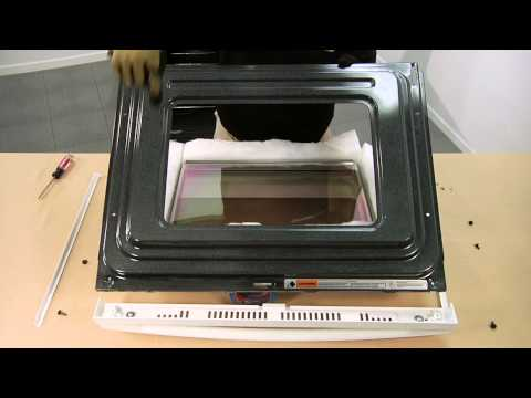 Range Stove Oven Repair Replacing The Door Hinge Whirlpool