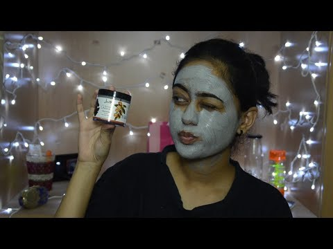 Jeva Activated Charcoal Face Pack With Argan Oil | First Impression | TheNailz4fun