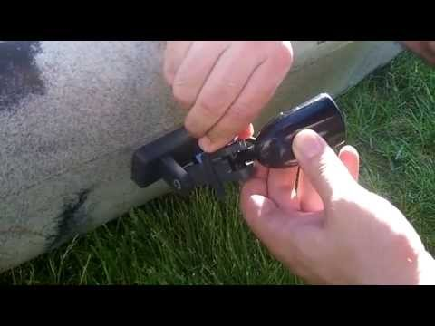 Kayak transducer install don 39 t glue or drill holes for Kayak fish finder install