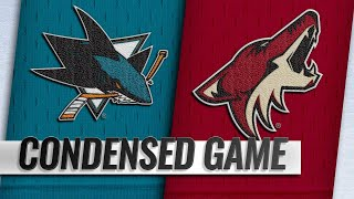 01/16/19 Condensed Game: Sharks @ Coyotes