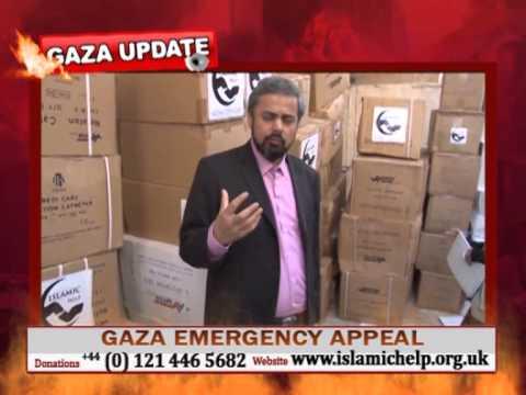 Islamic Help - Gaza 2012 Energency Medical Aid Distribution