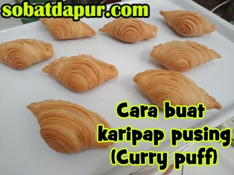 Cara buat pastel karipap pusing how to make curry puff