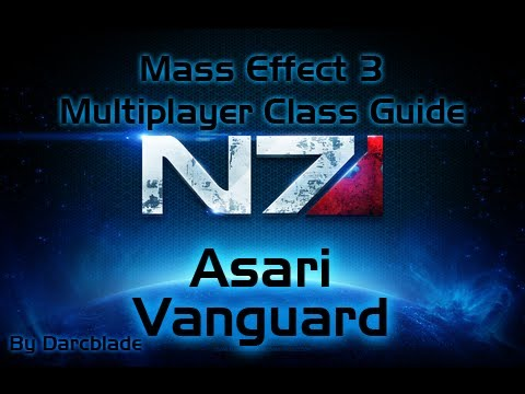 Mass Effect 3 Multiplayer Class Guide : Asari Vanguard