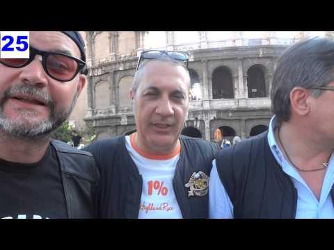 Papa Francesco Benedice 800 Harley Davidson – Raduno Angelus Piazza San Pietro