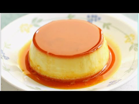 Easy  flan / creme caramel in 3 simple steps