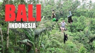 SWINGING THROUGH THE JUNGLES OF BALI || BALI, INDONESIA : VLOG 10 (part 1)