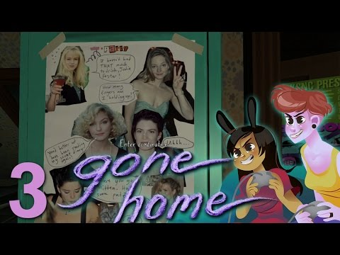 GONE HOME 2 Girls 1 Let's Play Part 3: Jodie Foster