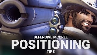 McCree Positioning Tips on Defense! [Overwatch]