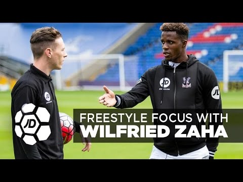 JD Football Freestyle Focus With Crystal Palace's Wilfried Zaha