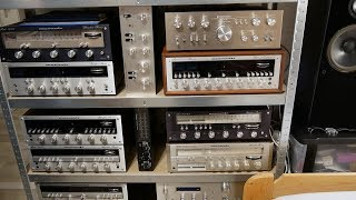 Huge Vintage Stereo Collection from a young student (all for sale)