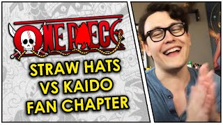 Straw Hat Alliance VS Kaido Live Reaction! An OUTSTANDING Fan-Made One Piece Chapter!