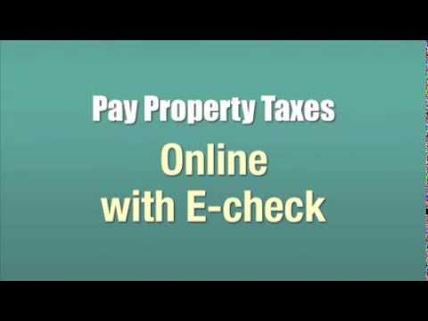 Can U Pay Property Taxes With A Credit Card