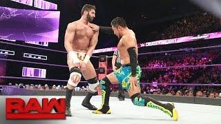 Akira Tozawa vs. Ariya Daivari: Raw, May 22, 2017