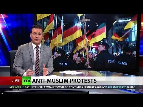German Anti-islam Rallies Raise Fears Over Neo-nazism video