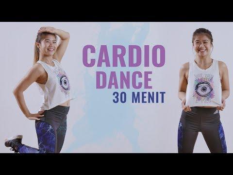 30 Menit Latihan Dance Cardio Untuk Membakar Lemak Tubuh