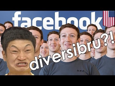 Facebook diversity report exposes pasty white underbelly + asians