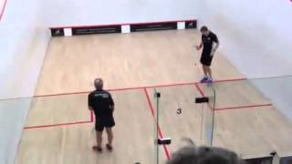 John Pearson vs Squash World Champion Nick Matthews