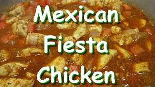 Creamy Mexican Fiesta Chicken Recipe