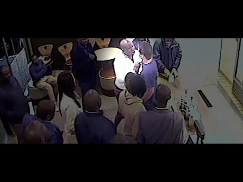 Julius Malema assault caught on security cameras.