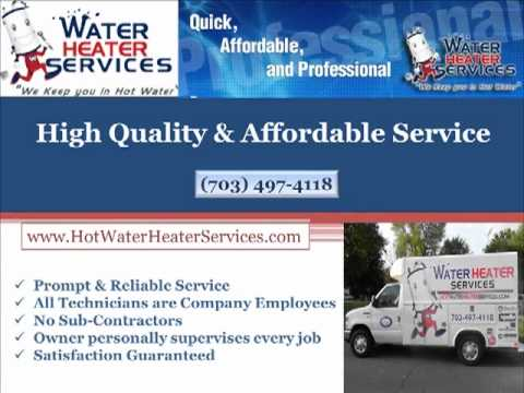 Water Heaters in Northern Virginia   Water Heater Services-703-268-6690