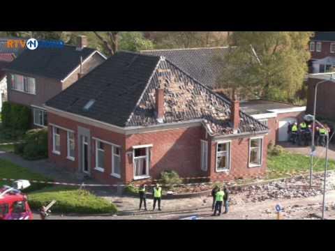 De ravage in Veendam in beeld - RTV Noord