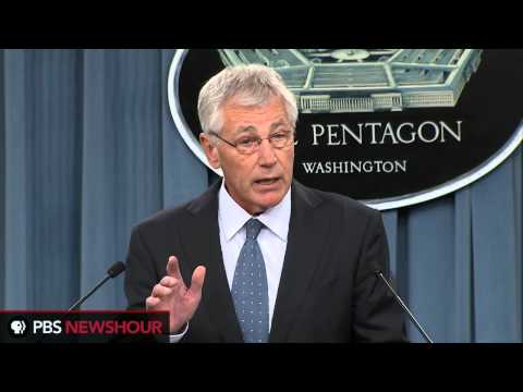 Hagel recommends American troop reductions to pre-WWII levels