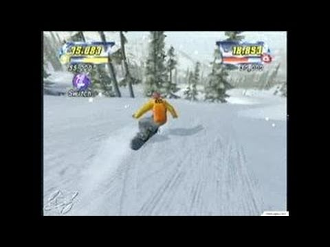 Amped: Freestyle Snowboarding Xbox Gameplay