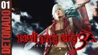 Devil May Cry 3 - Parte 1: Laço de Sangue [ Detonado Legendado PT-BR ]