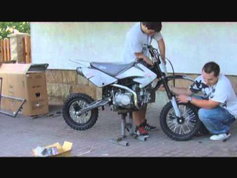 Pitbike Stomp - assembly