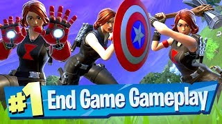 NEW Fortnite Avengers End Game Gameplay