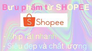 Bưu phẩm đất sét nhật từ shopee (mô tả)