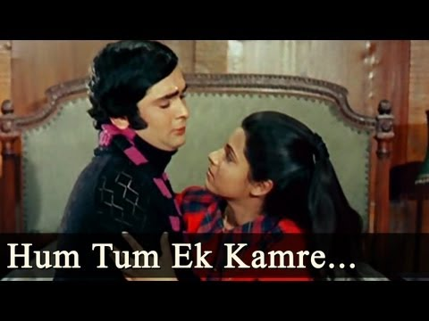 Bobby - Hum Tum Ek Kamre Mein Band Hon - Shailendra Singh - Lata Mange...