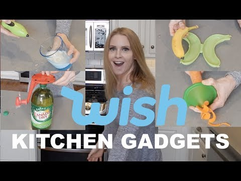 TESTING KITCHEN GADGETS FROM WISH | skip2mylou