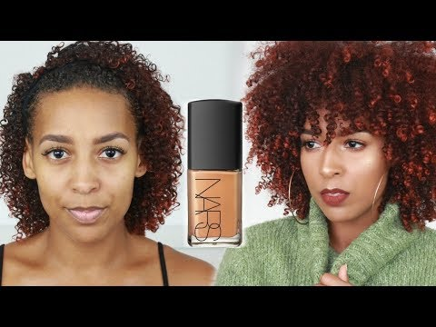 Nars Sheer Glow Foundation   Review + Wear Test