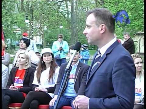 Przemówienie Andrzeja Dudy W Radomiu. Andrzej Duda Speech In Radom
