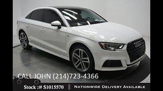 Used 2018 Audi A3 2.0T Premium Plus at Autos of Dallas Wholesale Dealer