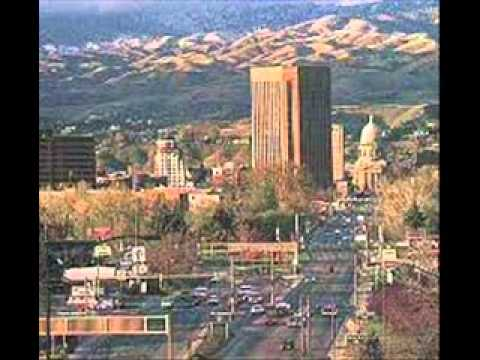 The city of Boise, Idaho